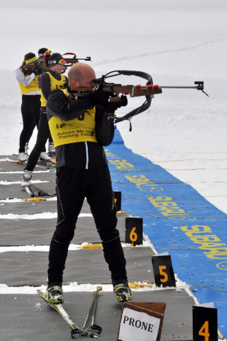 California National Guard Soldiers compete in Chuck Lyda Memorial Biathlon
